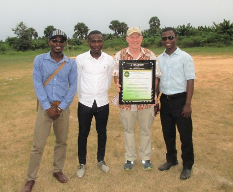 Solo, Otabil, George and Francis
