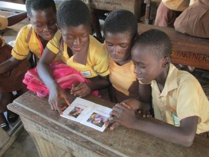 Bantuma Reading Club reading TS Level Reading books.