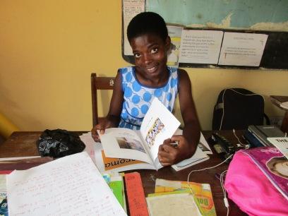 Helen will return to Bantuma Libarary after graduation.