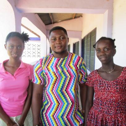 Joana (year 3 Bus) Emmanuel (yr 2 Bus) First in class. Esther (Yr 1 Bus)