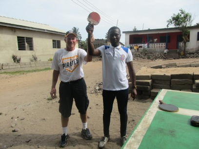 Otabil (2nd yr at univ) has regained his ping pong championship.