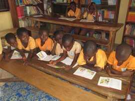 Bantuma Library kids