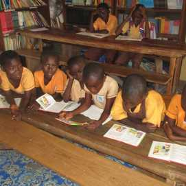 Bantuma Library kids