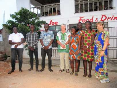 Nsoroma study center coaches and volunteers