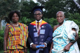 Francis and parents