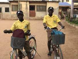Odoom twins with bikes